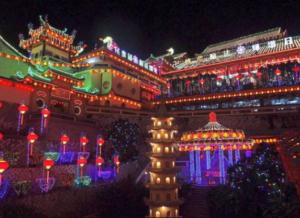 Kek Lok Si Temple lights