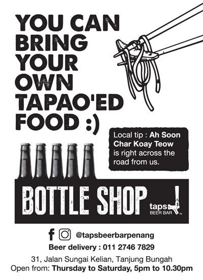 TAPS beer ad