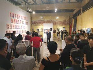 Opening Kecik Kecik exhibition Penang