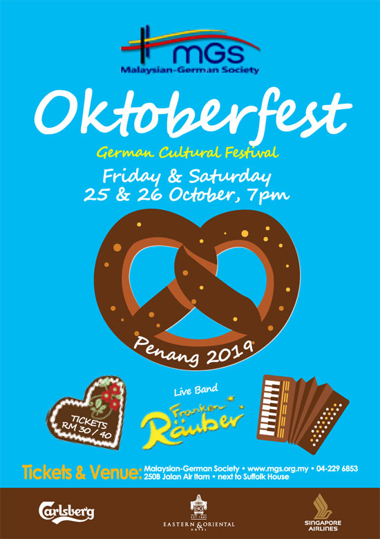 Malaysian German Society Oktoberfest ad