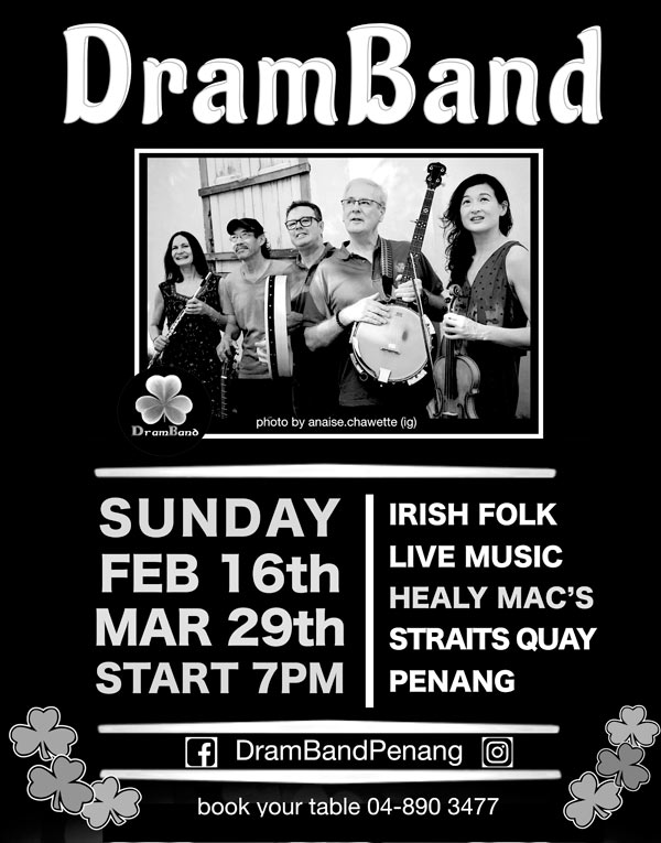 Dram Band at Healy Mac's